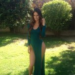 Hannah Stocking can do green too...