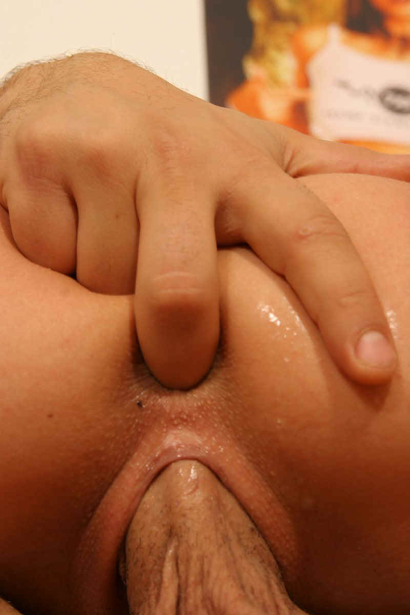 Inserted a finger into her anus #4