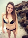 amateur photo Black bikini