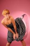 amateur photo Polkadot dress