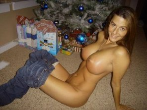 amateur photo Unwrapped present
