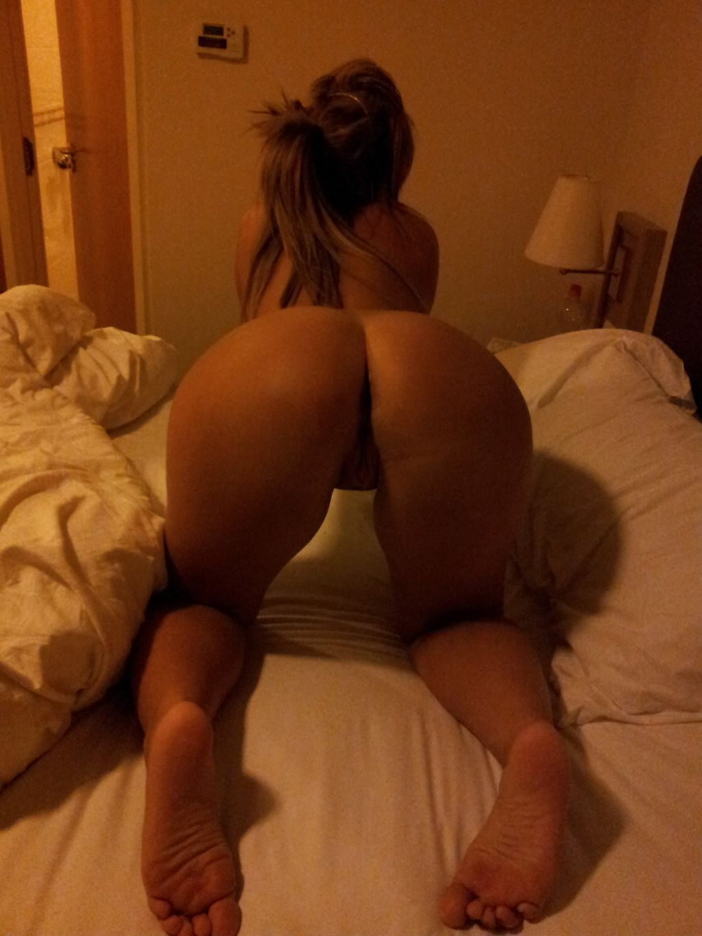 Over amateur college girl bent