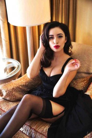 amateur photo Christian Serratos