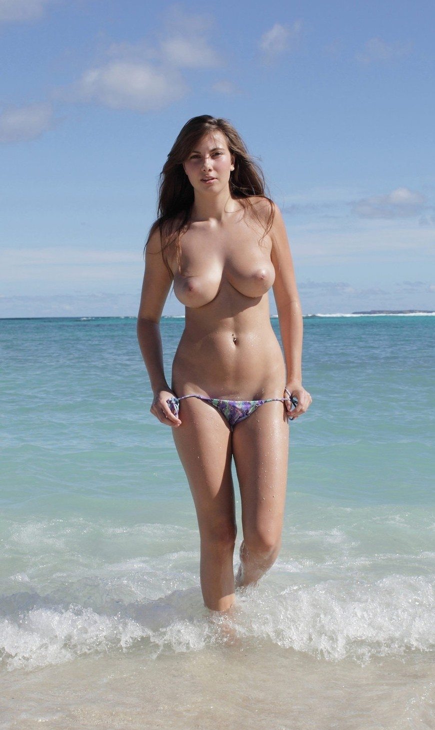 Great beach boobs