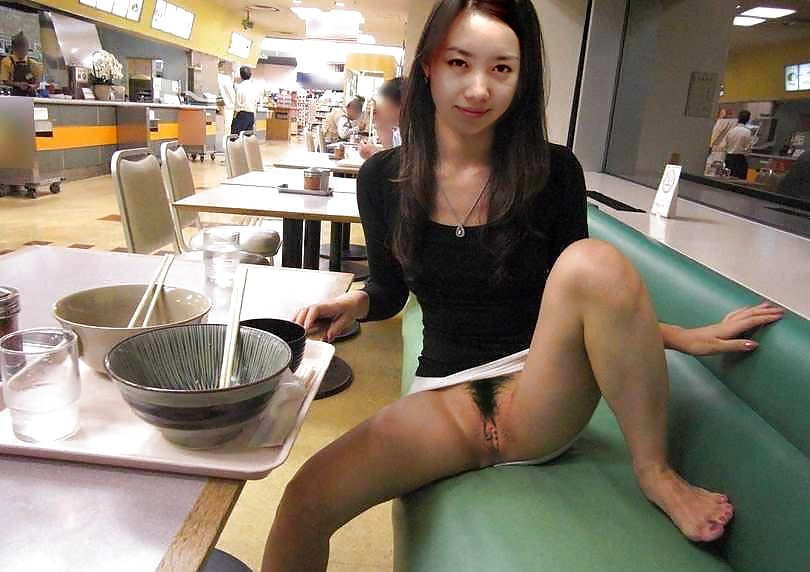 Asian food court Porn Photo