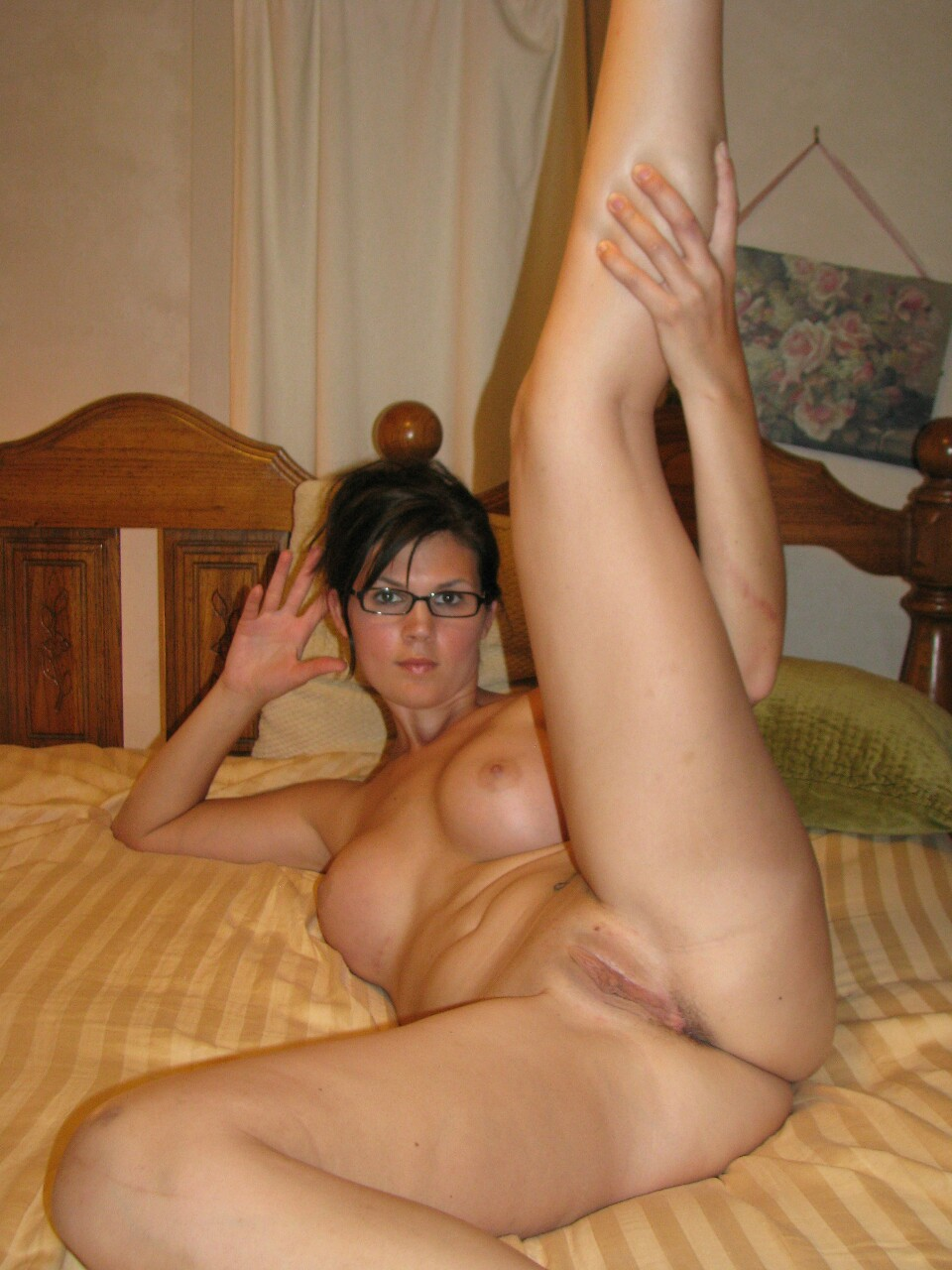 Mature legs open nude labour. will