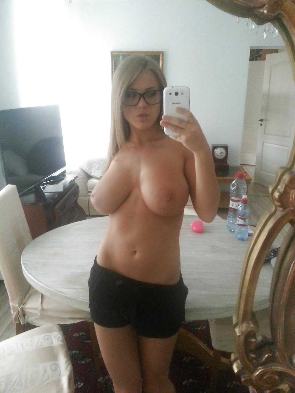 Knows Girl with nerd glasses tits confirm