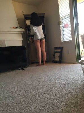 amateur photo Another shot of her tiny Asian ass