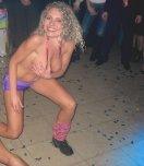 amateur photo Stacy dances at Alabama DOT Party