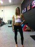 amateur photo Gym chick
