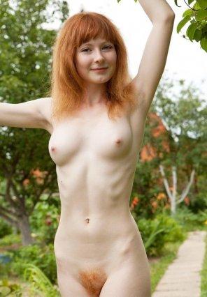 amateur photo Naked walk