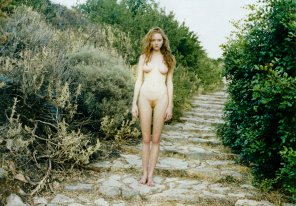 amateur photo Lily Cole Naked In Paradise Magazine
