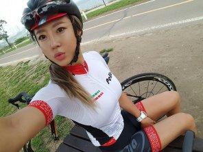 amateur photo Bicycle fit