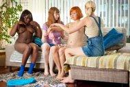 Lewa, Chloe, Dahlia & Misha