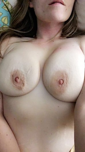 amateur photo Sweet freedom for my boobs!
