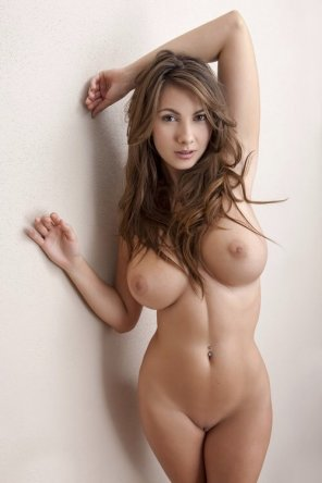 amateur photo Flawless brunette