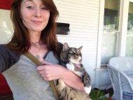 amateur photo cat