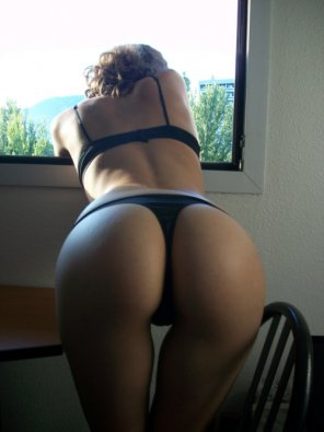 amateur photo Enjoying her view