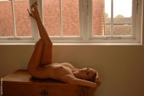 amateur photo Hayley Marie Coppin by the window