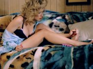 Scarlett Paints Her Toenails