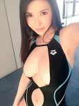 amateur photo Bathing suit beauty
