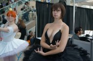 Too much cleavage, perhaps