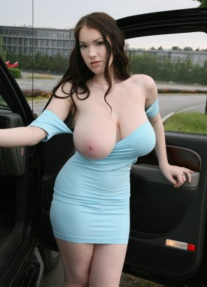 amateur photo Huge Pale Tits