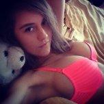 amateur photo stuffed bear sneakin a peek