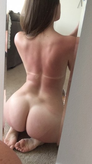 amateur photo Amazing ass mirror shot
