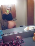 amateur photo Thick girl selfie