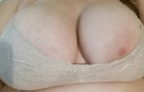 amateur photo The problem with my big boobs is cute bras just don't fit [oc]
