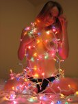 amateur photo Xmas ~~tree~~ tits
