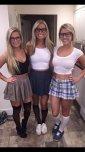 amateur photo 3 blondes