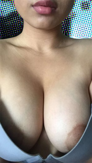 amateur photo [F] I like to bait strangers into filling my cups with cum for me :) Complete cum dumpster