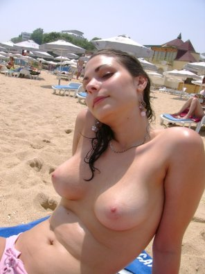 amateur photo On the beach