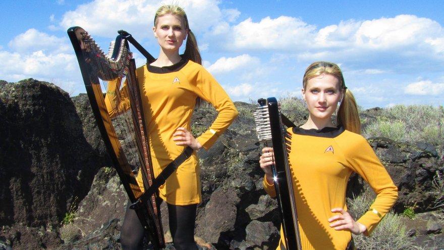 The Harp Twins for Trekkies. Porn Photo