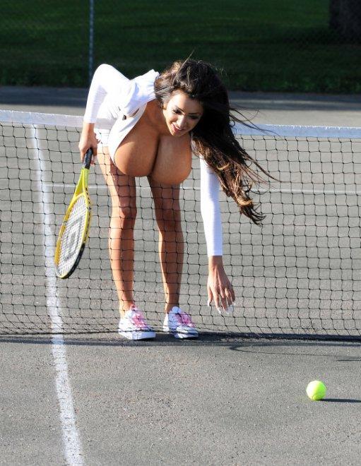 a major handicap in tennis Porn Photo
