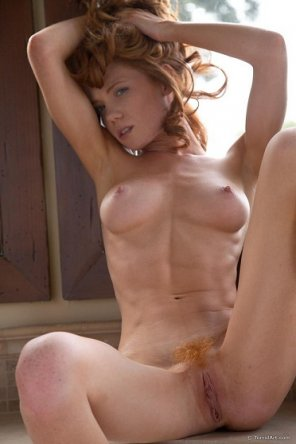 amateur photo My Favorite Ginger Babe...