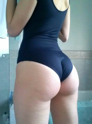 amateur photo One- piece swimsuit