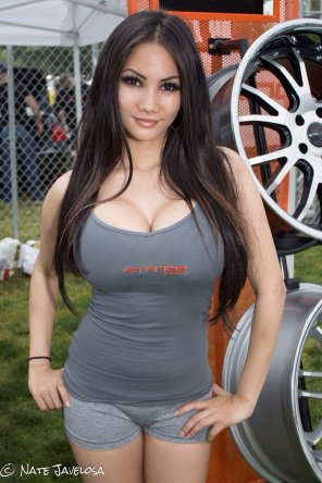 amateur photo Wheely great Asian
