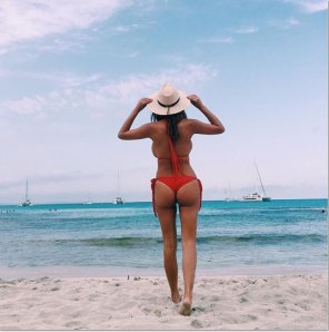 amateur photo Devin Brugman ass with a hint of sideboob