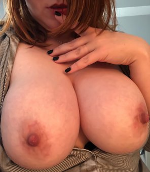 amateur photo My 40Ds need TLC after some nipple play! Any volunteers? [Image]