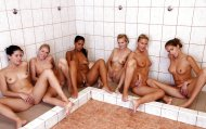 play in the shower room