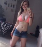 amateur photo Cutie in a Pink Bikini