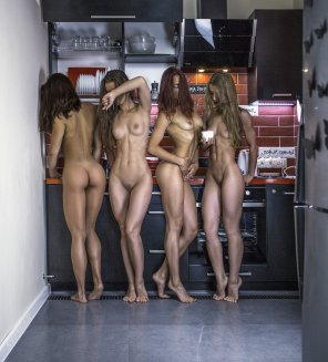 amateur photo Four Very Fit Bodies