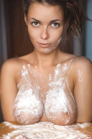 amateur photo Fantastic flour