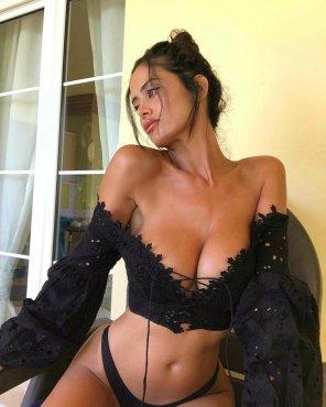 amateur photo Spanish Beauty Eva Padlock