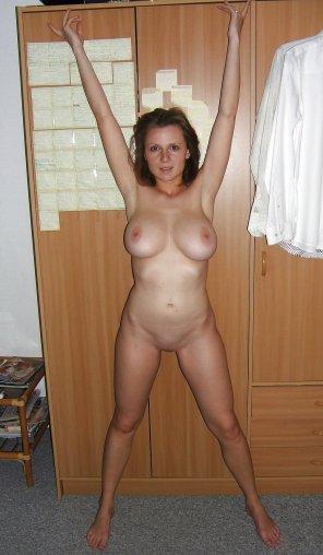 amateur photo Hands up