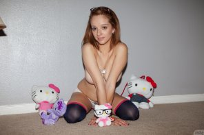 amateur photo hello kitty
