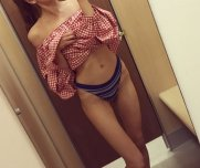 Oh hello [f]rom fitting room